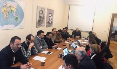შეხვედრა მუსლიმური პანსიონატების ხელმძღვანელებთან