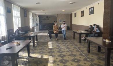 შეხვედრა ადგილობრივ გლეხებთან - სოფელი ვახტანგისი