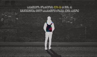 მკვლელობა ხორავას ქუჩაზე: მოსახლეობის ცოდნა და დამოკიდებულება სასამართლოს გადაწყვეტილების მიმართ