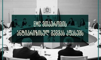 EMC: ანტიკრიზისულ პროგრამებში მნიშვნელოვანი ხარვეზები და რისკები იკვეთება