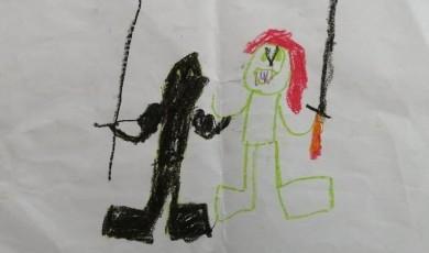 მამა და დედა ჩხუბობენ ხანჯლებით: პანდემიის გავლენა ქალთა მიმართ და ოჯახში ძალადობაზე
