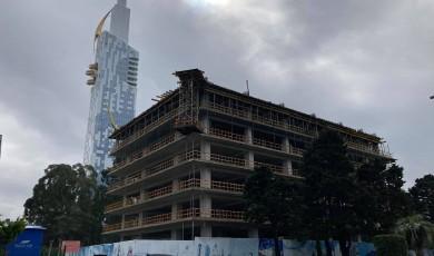 """""""ბათომი"""" და EMC ბულვარში სასტუმროს მშენებლობაზე გაცემულ ნებართვას ასაჩივრებენ და მშენებლობის დაუყოვნებლივ შეჩერებას ითხოვენ"""