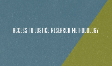 Access to Justice Research Methodology