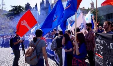 შრომა და მშრომელთა მდგომარეობა საქართველოში - 1 მაისი 2017 წელი