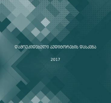 აუდიტორების დასკვნა/2017